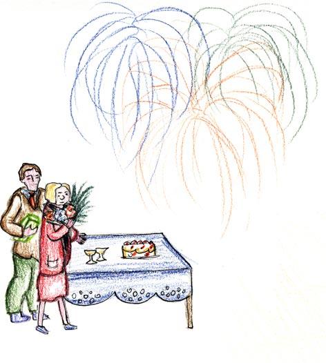 Disegno Festa dell'Anziano 2007